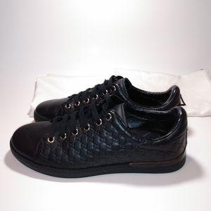 Gucci GG Leather Guccissima Monogram Sneakers